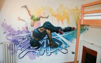 Décor Hip Hop Breakers