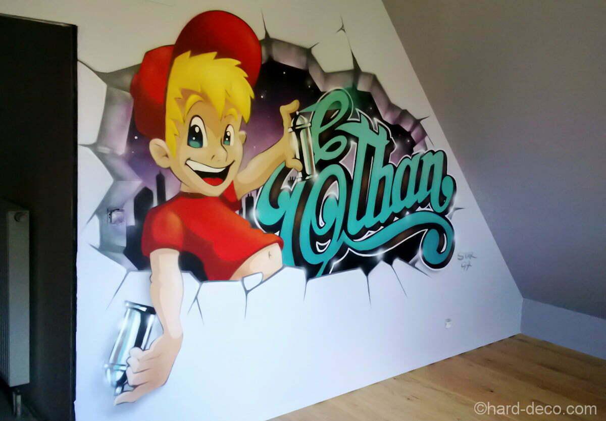 Le graffiti dethan