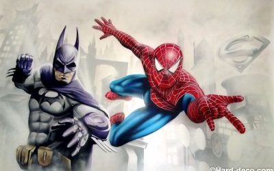 Batman & Spiderman