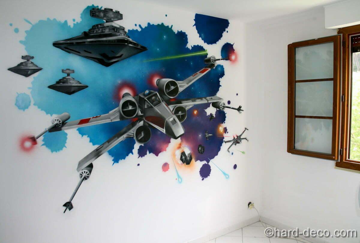 Chambre Star Wars  Hard Deco