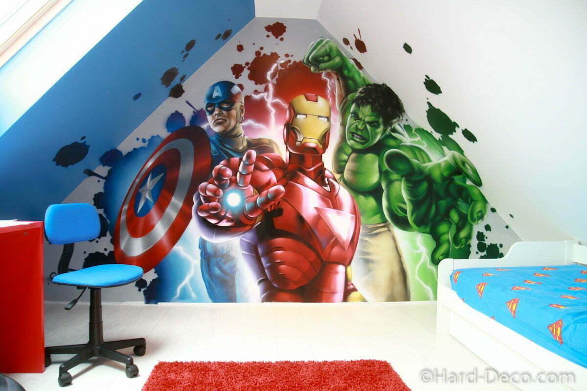 Marvel Avengers  Hard Deco