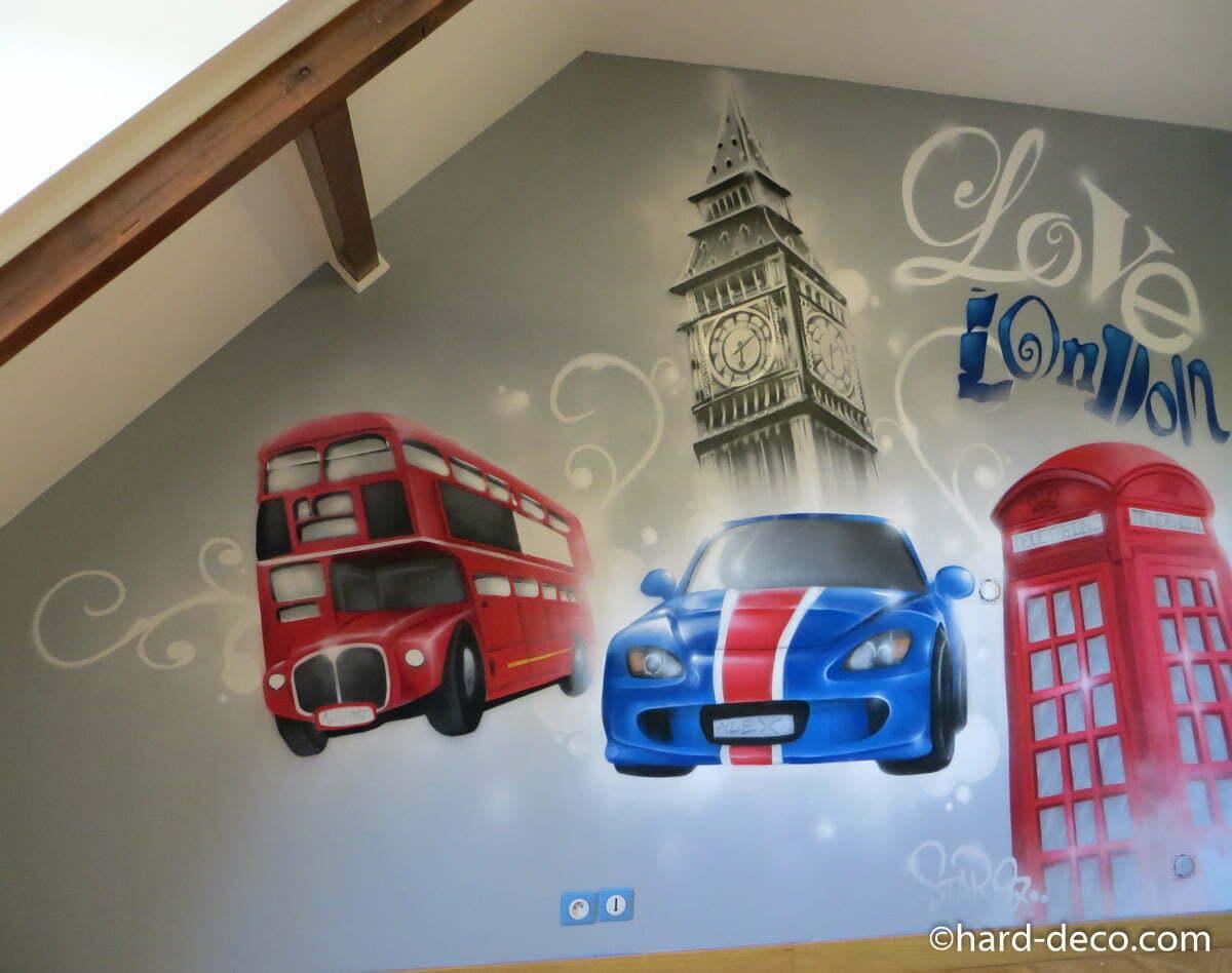 Idee Deco Chambre Londres chambres d'enfants | hard deco