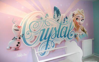 Crystal et La Reine des Neiges