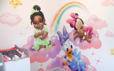 Une chambre de petite princesse