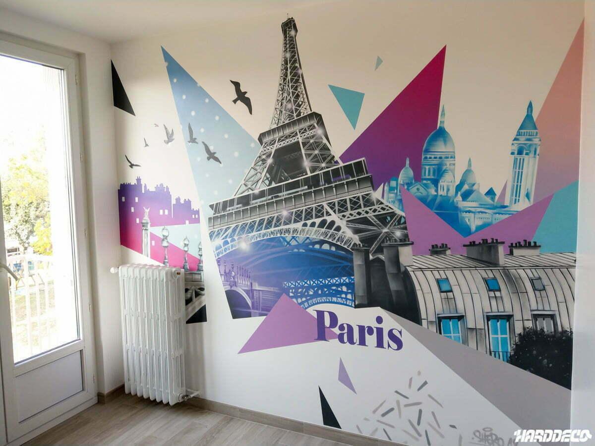 Decoration De Chambre Theme Paris urbain (paris-ny,..)   hard deco