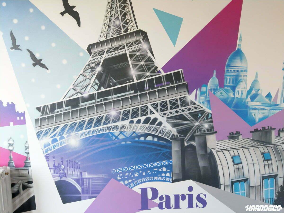 Decoration De Chambre Theme Paris thème paris – tour eiffel   hard deco