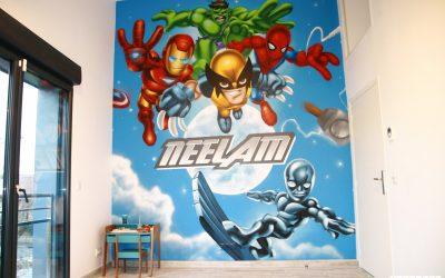 Fresque Baby Marvel Neelam