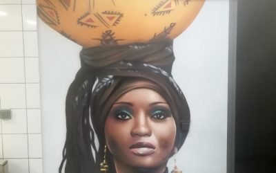 Femme Kalbass d'Afrique