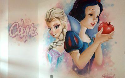 Elsa et Blanche Neige