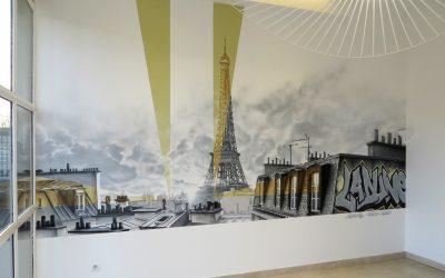 Groupe Ladune et Tour Eiffel